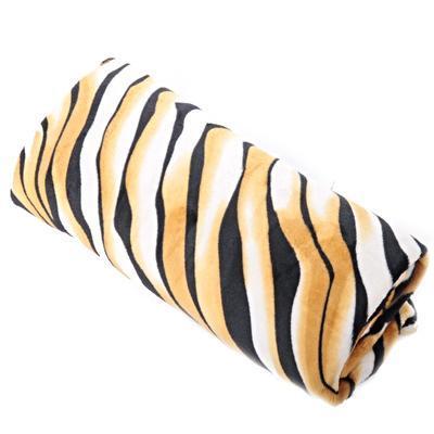 Hřejivá deka Rony hnědá 150 x 200 - 1