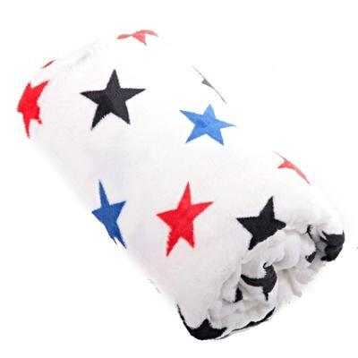 Hřejivá deka Hvězda bílá 150 x 200 - 1