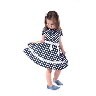 Dívčí letní puntikaté šaty Tina - 1
