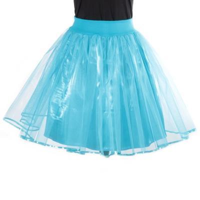 Tutu dámská sukně Adriana modrá - 1