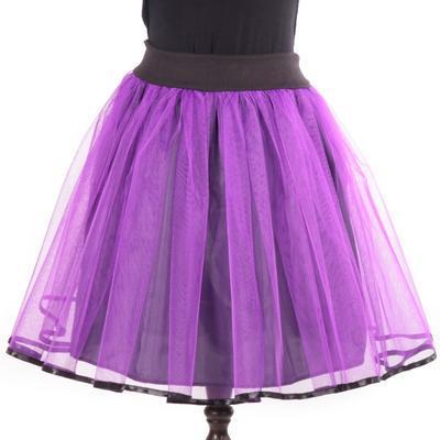Tutu dámská sukně Marta fialová - 1