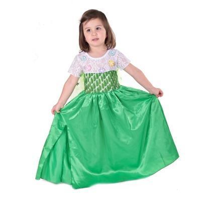 Karnevalový kostým princezna Elsa zelený - 1