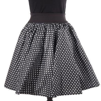 Dámská retro sukně Adel černá - 1