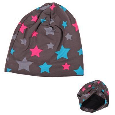 Podzimní dětská čepice Star - 1