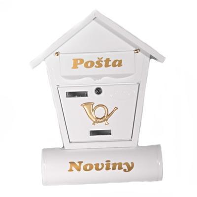 Poštovní schránka Ponty bílá