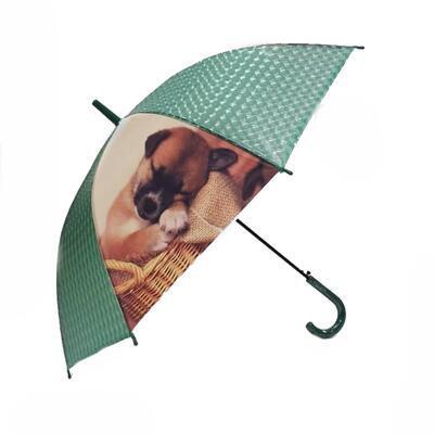 Vystřelovací deštník Puppy zelený - 2