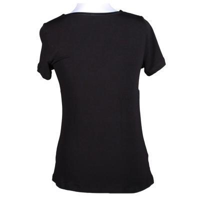 Černé tričko s krátkým rukávem Daniela - 2