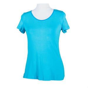 Modré tričko s krátkým rukávem Olivie - 2/2