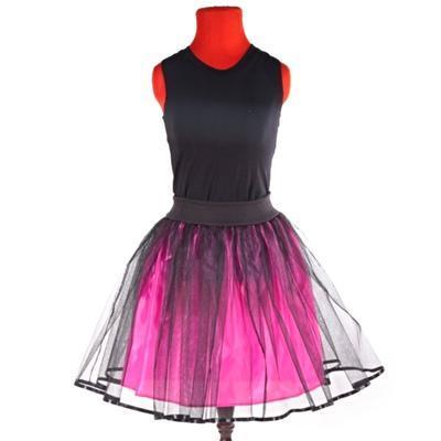Tmavě růžová tutu sukně Marta - 2