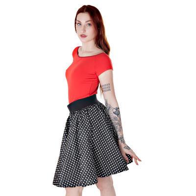 Červené tričko s krátkým rukávem Marika - 2