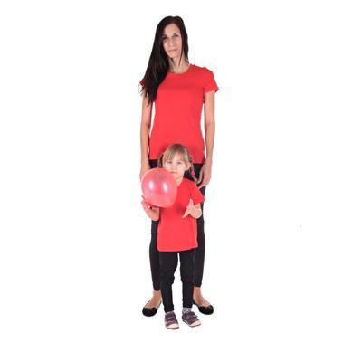 Červené dětské tričko krátký rukáv Laura od 122-146 - 2