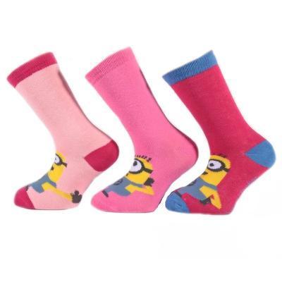 Klasické dívčí ponožky Mimoni P6b - 2