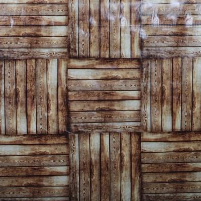 Omyvatelný ubrus motiv Dřevo metráž - 2