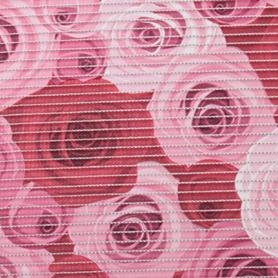 Gumová koupelnová rohož 65cm Růže - 2
