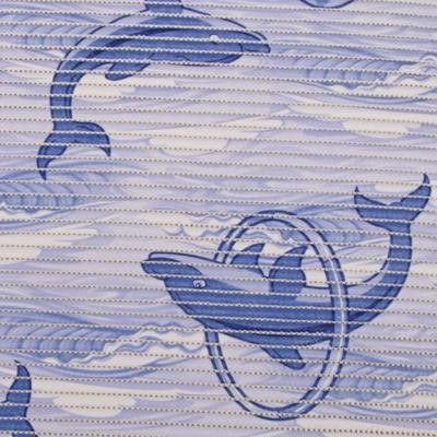 Gumová koupelnová rohož 65cm Delfín - 2