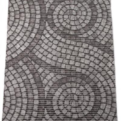 Gumová koupelnová rohož 65cm Dlažba - 2