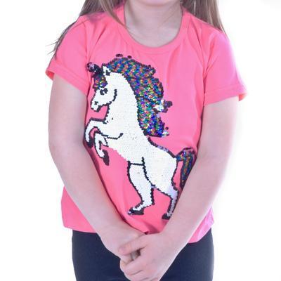 Měnící dívčí tričko Klaudie - 2