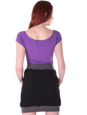 Fialové tričko s krátkým rukávem Belita - 2