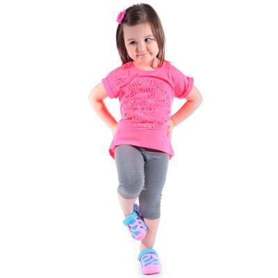 Neonově růžové tričko Love - 2