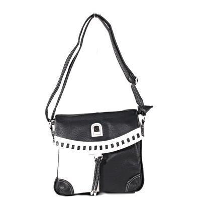 Černobílá crossbody kabelka Patricia - 2