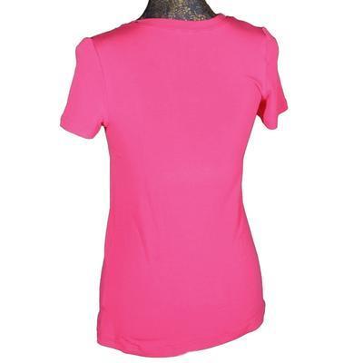 Růžové tričko s krátkým rukávem Paula - 2