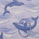 Gumová koupelnová rohož 80cm Delfín - 2/2