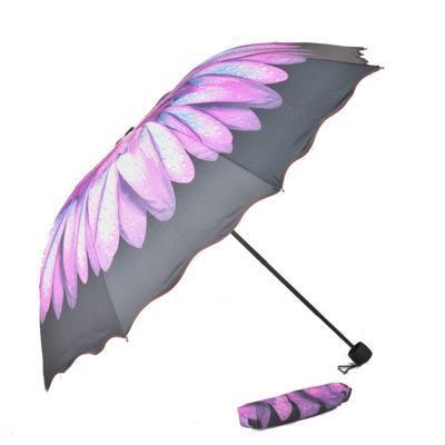 Skladací dámský deštník Simona barevný - 2