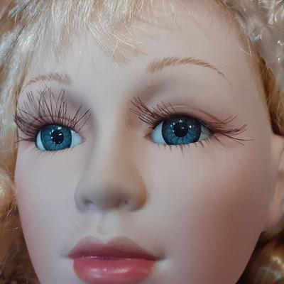 DOLL porcelánová panenka  Zofie 78 cm - 2