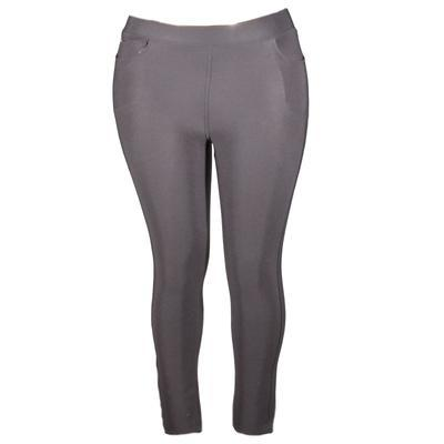 Černé kalhotové zimní legíny Olivie - 2