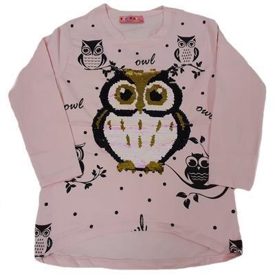 Dětské růžové tričko s měnícím obrázkem Jessi - 2