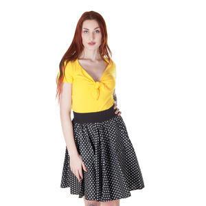 Žluté tričko s krátkým rukávem Daniela - 2/3