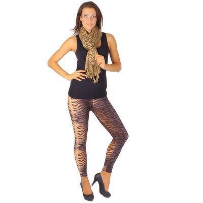 Trendy šátek Nancy hnědý C4 - 2