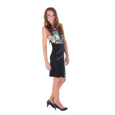 Letní šaty Meriel se zavazováním za krk - 2