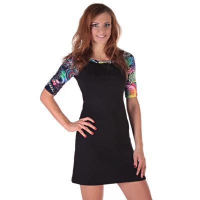 Krátké černé šaty Aimee 40, 40 - 2