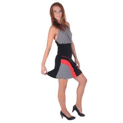 Letní šaty Seal se zavazováním za krk - 2