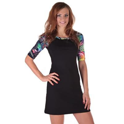 Krátké černé šaty Aimee 36, 36 - 2