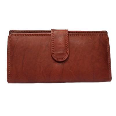 Dámská luxusní peněženka Esther hnědočervená - 2