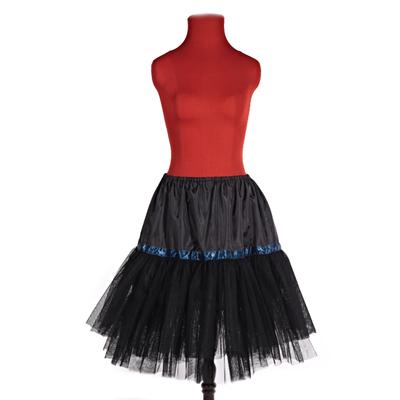 Černá spodnička pod sukně Manky - 2