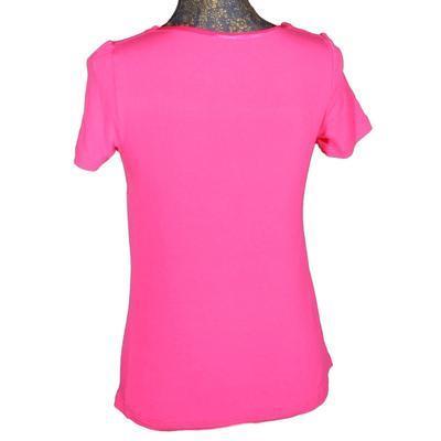 Růžové tričko s krátkým rukávem Daniela - 2
