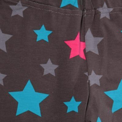 Dívčí hvězdičkové dlouhé legíny Star  - 2