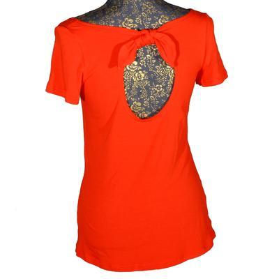Červené tričko s krátkým rukávem Celestina - 2