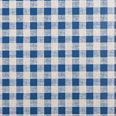 Omyvatelný ubrus motiv Kostička malá metráž modrý - 2