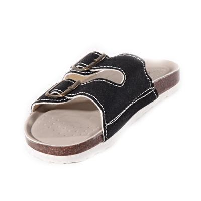 Pánské korkové pantofle Horst černé - 2