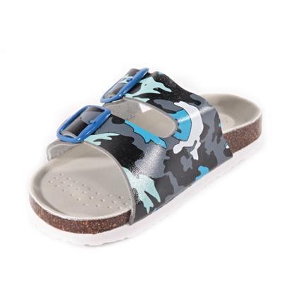 Dětské pantofle Army modré - 2