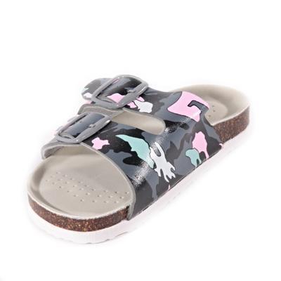 Dětské pantofle Army růžové - 2