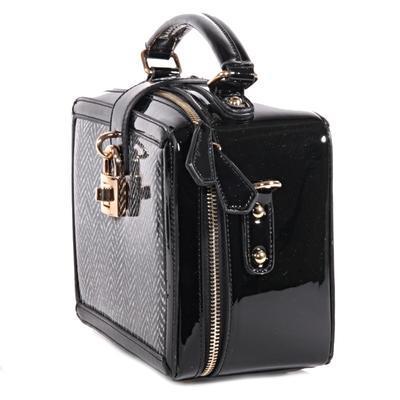 Mini černá kabelka do ruky Berta 8B - 2