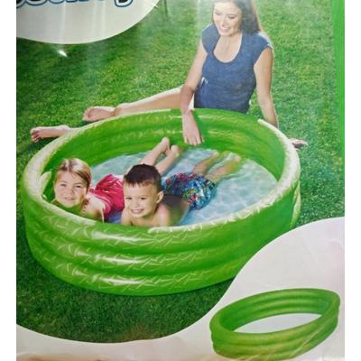 3komorový nafukovací bazén 102x25cm Olivie - 2