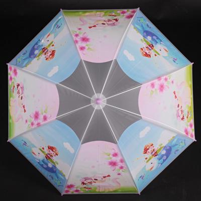 Dětský vystřelovací deštník Tim fialový - 2