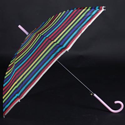 Pruhovaný deštník Dora barevný - 2