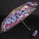 Skládací dámský deštník Megan fialový - 2/2